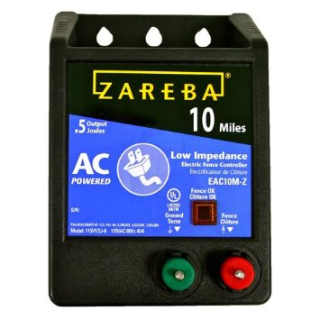 Zareba Eac10m Z 10 Mile Ac Low Impedance Charger