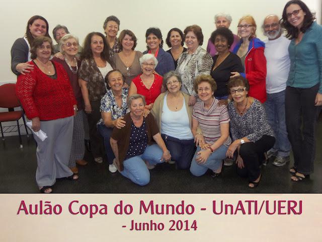Aulao Copa do Mundo - UnATI/UERJ - Junho 2014