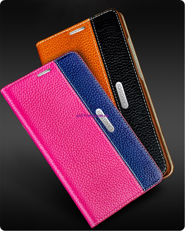 Lenovo Phab Plus PB1-770N Genuine Leather Flip Case Cover Casing. ‹ ›
