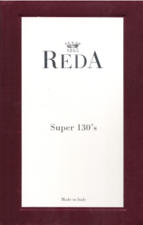 Reda Super 130's Reiner Wolle Anzug €800/-