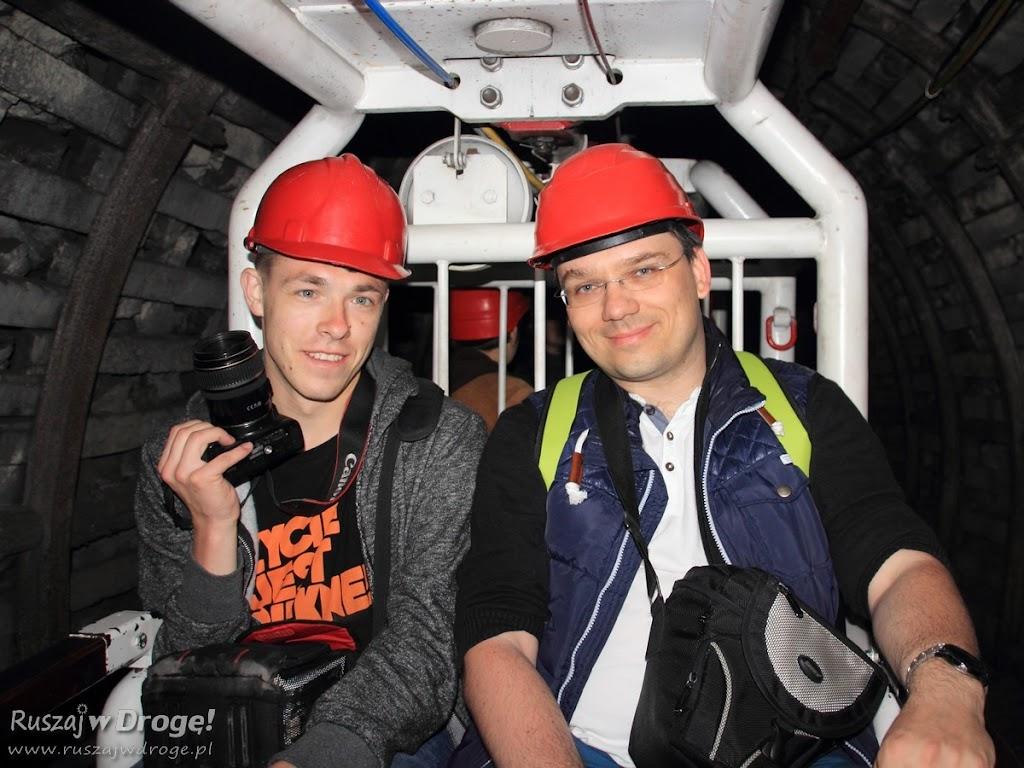 Kopalnia GUIDO w Zabrzu - wyjazd podziemną kolejka