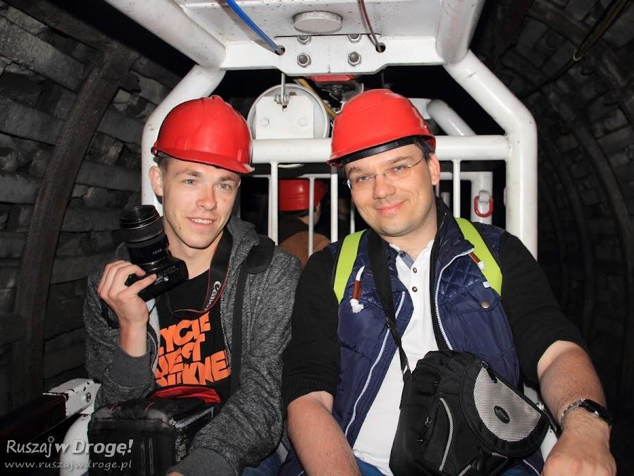 Podziemny tramwaj w Kopalni GUIDO