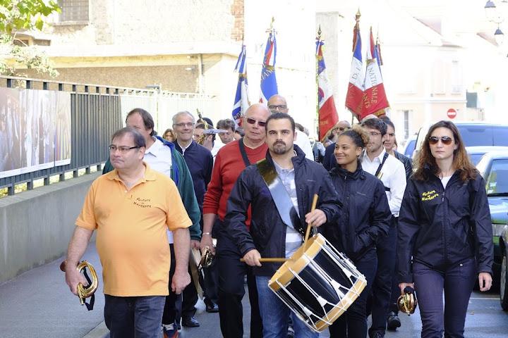 cérémonie libération Nanterre