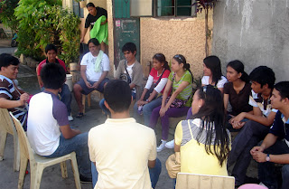 March 7: Sir Jojo requests Sir Jeff to introduce the students to Raymond's family. The interview was done outside their house.