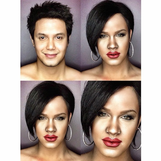 Paolo Ballesteros Makeup Transformations with Pictures 08