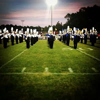 E.A. Laney HS band