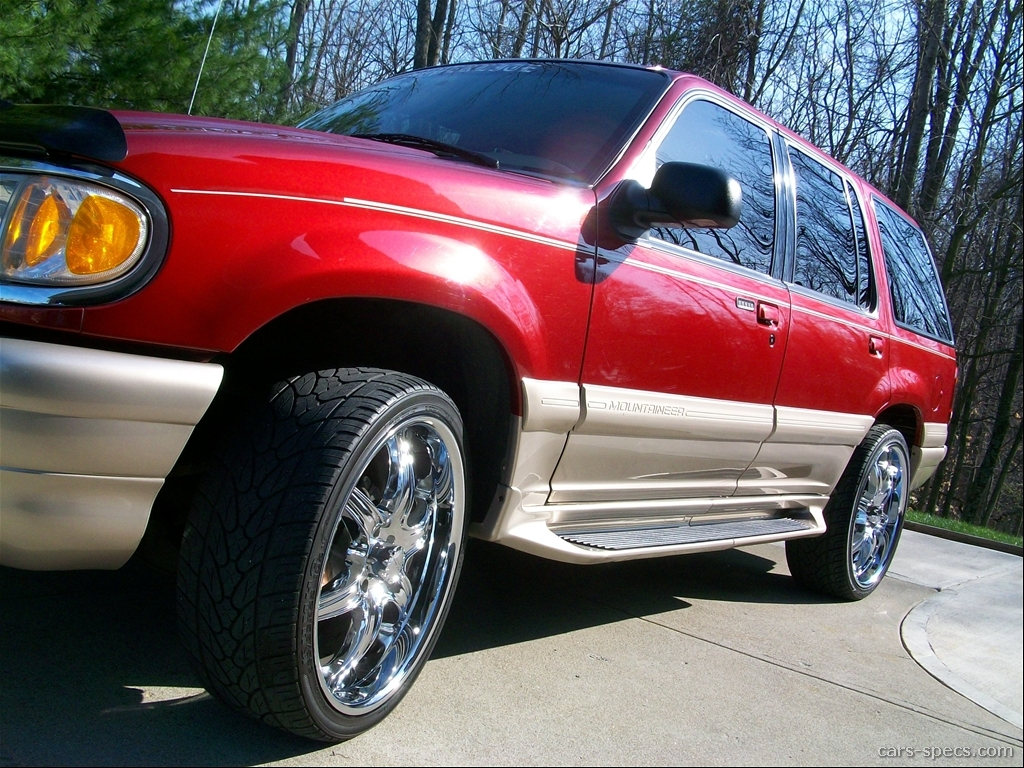 1999 Mercury Mountaineer SUV Specifications Pictures Prices