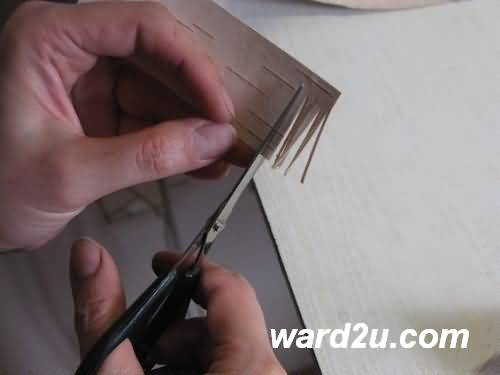 طريقة عمل ورود جميلة ولوحات من الجلود