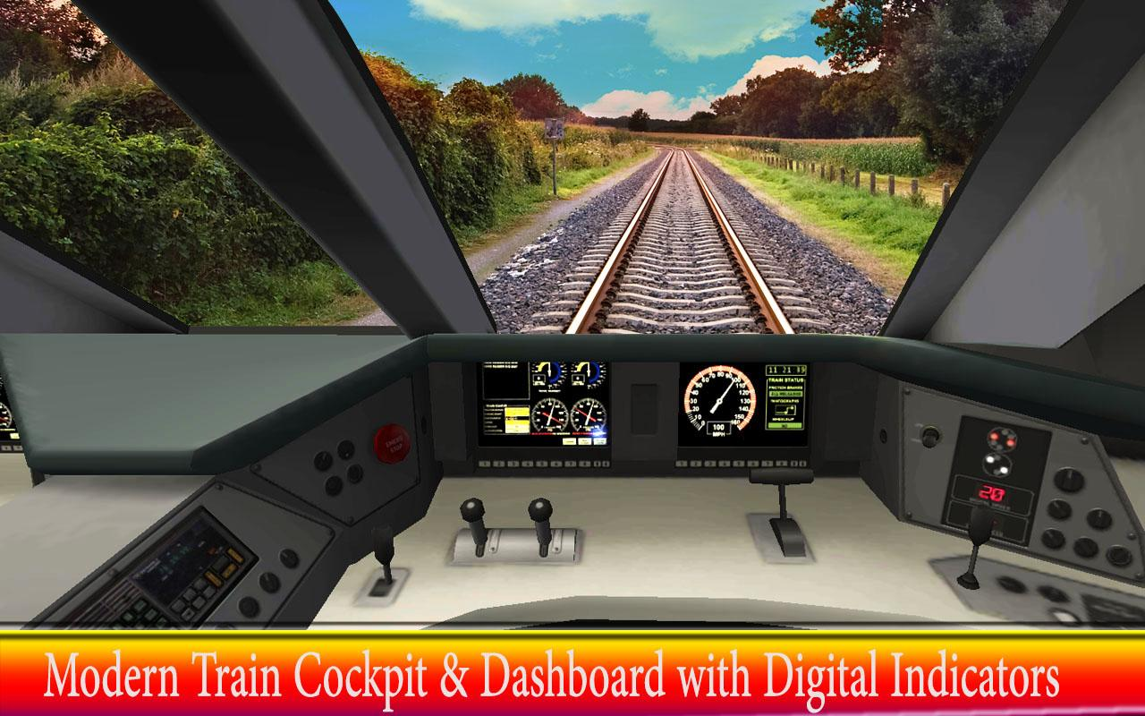 Real Metro Train Simulator Driving Games- screenshot