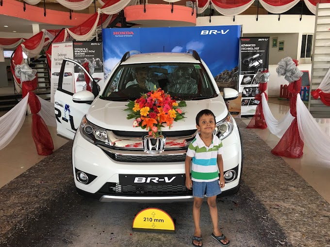 A day out with the Honda BRV