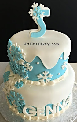 Frozen Birthday Cake Greenville Sc
