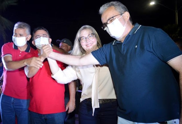 Em Campo Maior, Professor Ribinha abre oficialmente campanha com Inauguração do Comitê 13