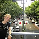 omotesando dori bridge in Harajuku, Tokyo, Japan