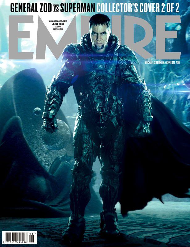 man of steel zod Michael Shannon empire cover