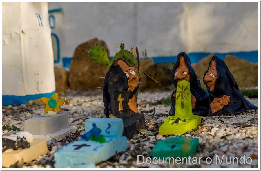 Aldeia da terra, a aldeia mais caricata de Portugal, aldeia esculturas Arraiolos, Tiago Cabeça