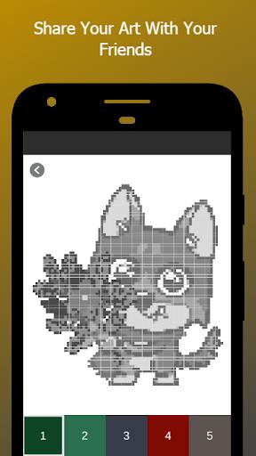 Capturas de pantalla 6 de Wolf Color By Number