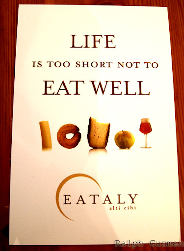 Eataly - New York - RatedRalph.com