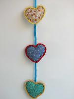 guirnalda de corazones/heart garland
