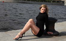 legs women water russian models pantyhose high heels earrings 2560x1600 wallpaper