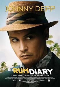 Cuốn Nhật Ký Kỳ Lạ - The Rum Diary poster