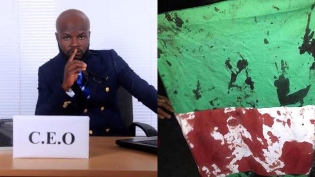 Onesoul, Eyewitness Of Lekki Shooting Claims He Never Saw Dead Bodies But... ~Omonaijablog