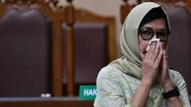 MA Vonis Lepas Mantan Dirut Pertamina Karen Agustiawan