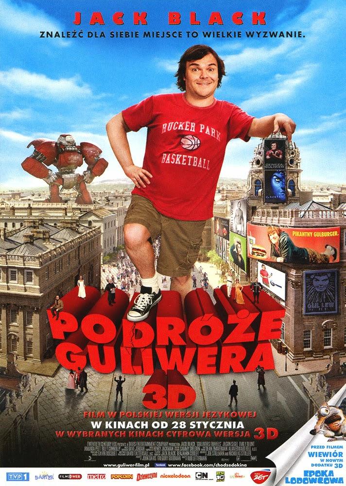 Ulotka filmu 'Podróże Guliwera (przód)'