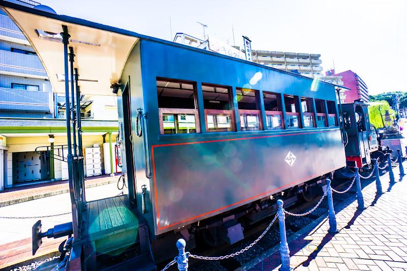 Dogo Onsen (Dogo Hot Springs), Botchan train 5