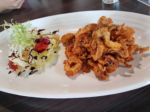 Spicy fried calamari from J Cafe at Kaohsiung