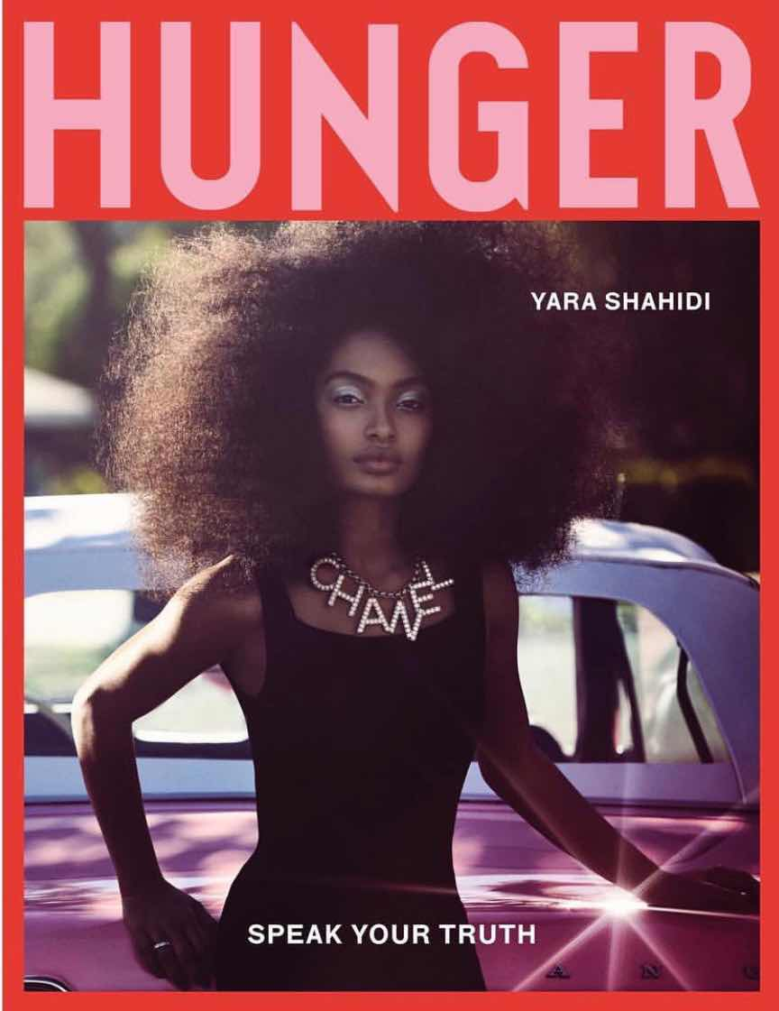 Yara Shahidi for Hunger Magazine