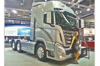 La remise du mois: 50 millions de remise sur les camions Hyundai au Batimatec
