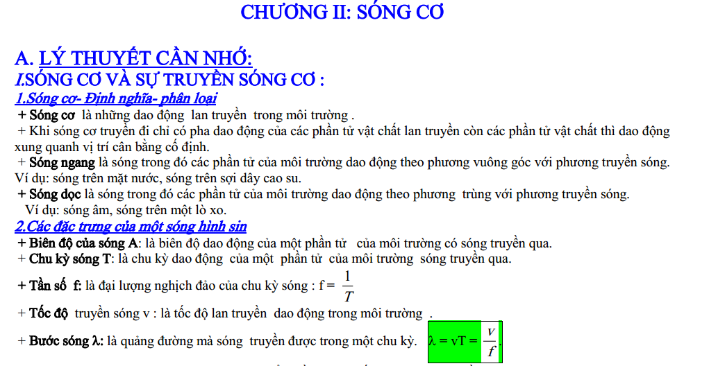 dang bai tap song co