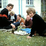 1964.05 Sheila, Margaret Embling,Geoff Bath,Pat Wilkinson, Gerry Brown,Alan and Anthea Evans.JPG