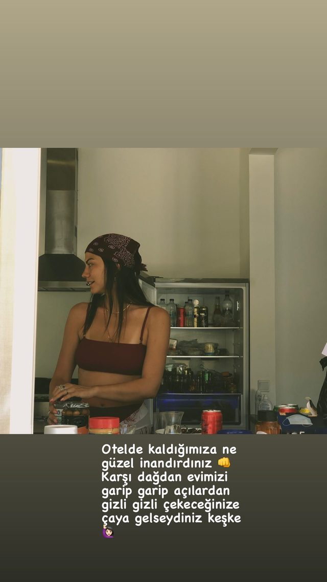 Demet Özdemir: Why don't you come and have a cup of tea instead of taking pictures secretly?