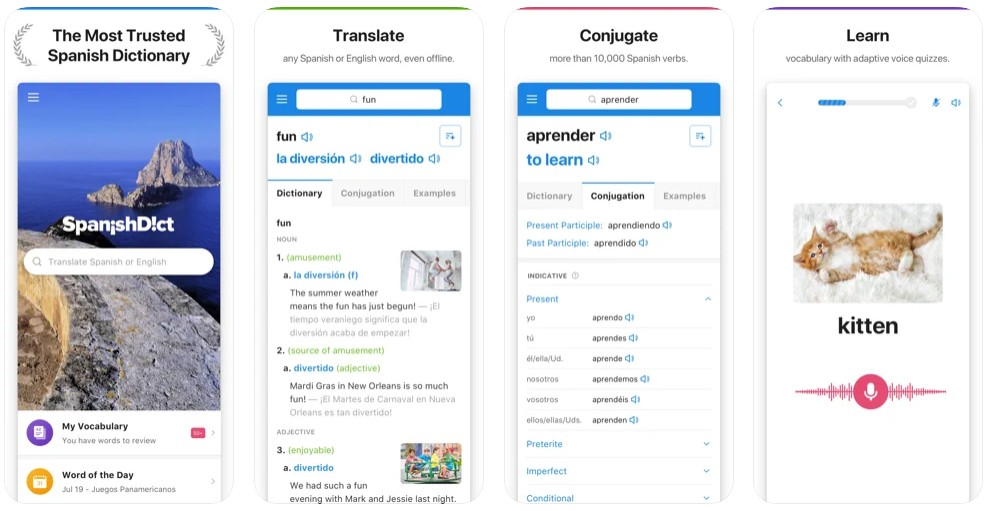 SpanishDict Spanish Translator