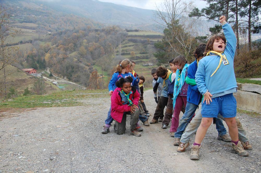 Sortida Castors i Llops a la Roca del Secut 2010 - DSC_0777.JPG