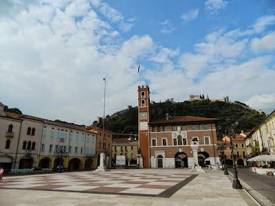 Marostica, la Piazza degli Scacchi