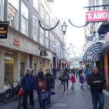 shopping streets in Den Haag, Zuid Holland, Netherlands