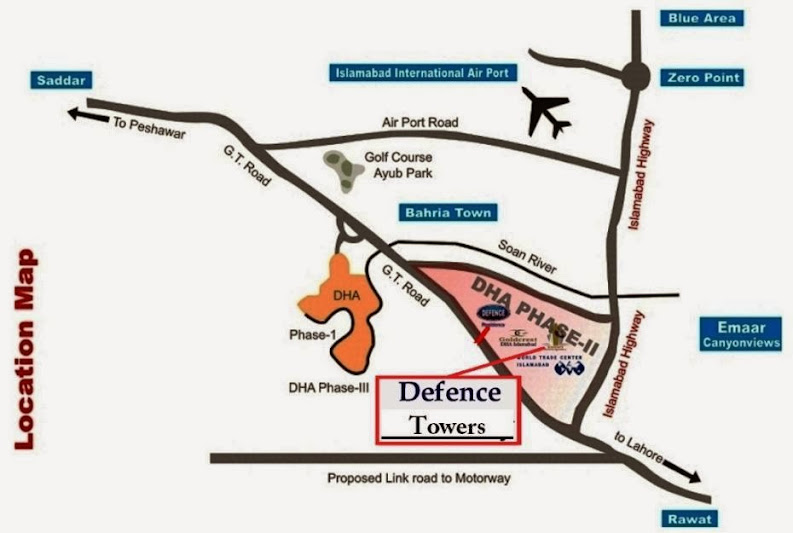 Defence Tower Islamabad