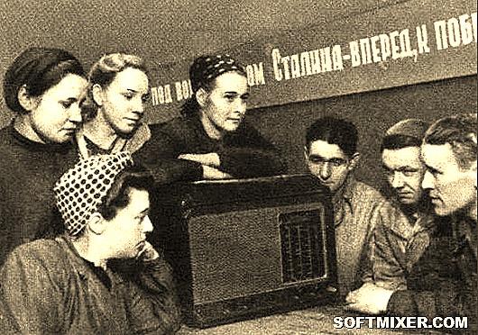 Sovetskie-rabochie-slushayut-radio-768x765
