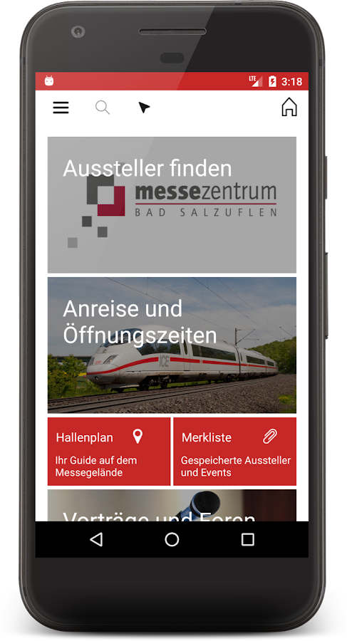 Messe Bad Salzuflen – Screenshot