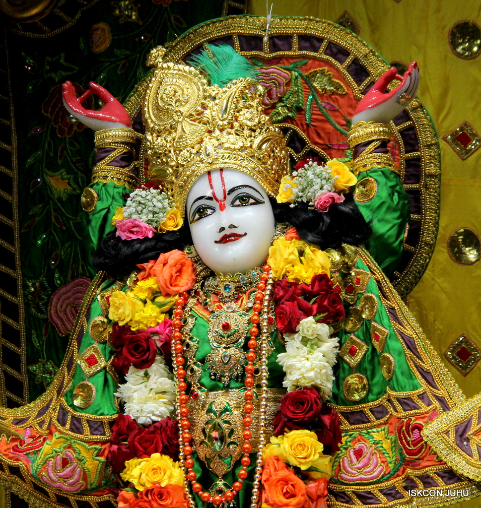 ISKCON Juhu Sringar Deity Darshan on 18th Jan 2017 (45)