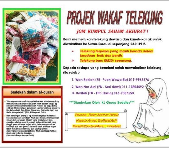 Projek Wakaf Telekung