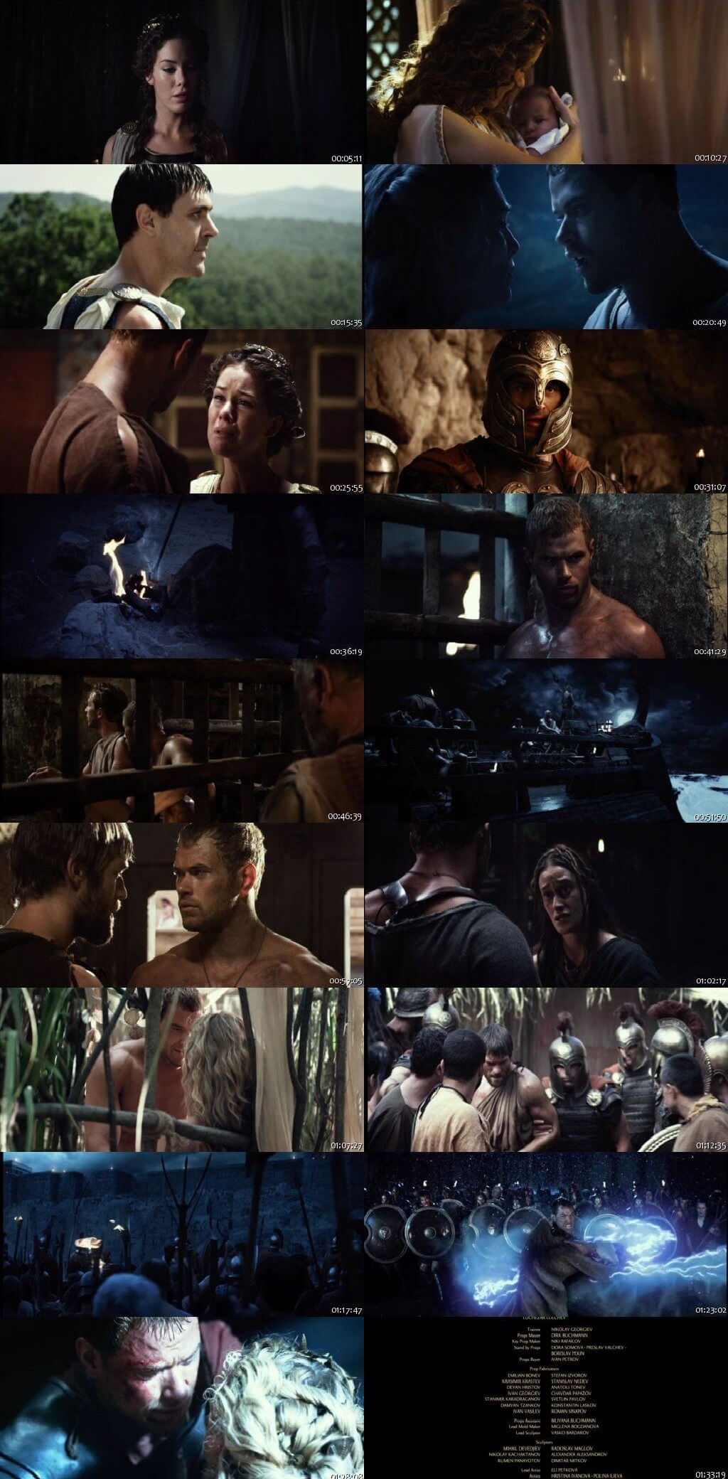 Screen Shot Of The Legend of Hercules 2014 300MB Full Movie Hindi Dubbed Free Download 480P BRRip Small Size PC Movie