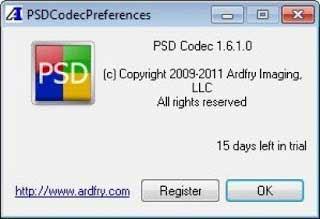 تحميل برنامَج PSD Codec
