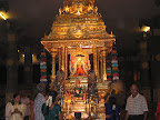 Mangadu golden chariot - another view