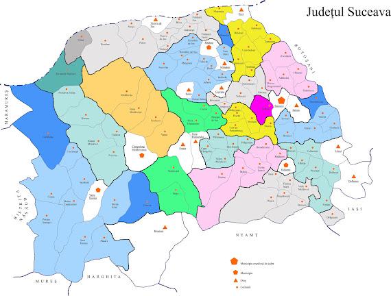Organizarea Poliţiei Rurale în judeţul Suceava
