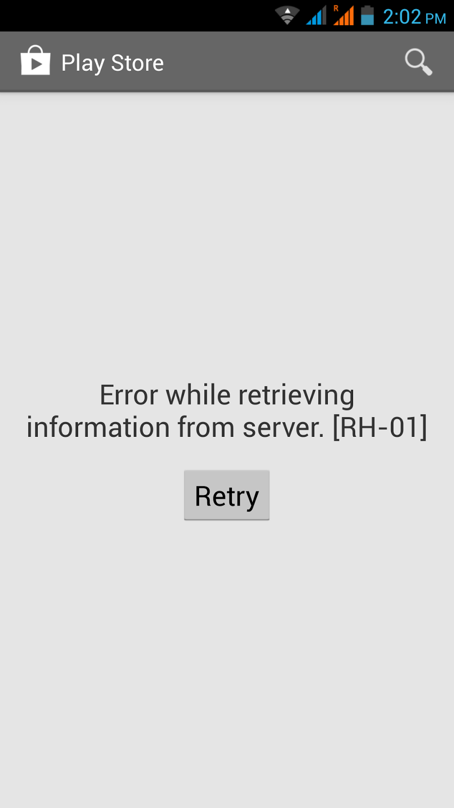 Play Store issues on Android