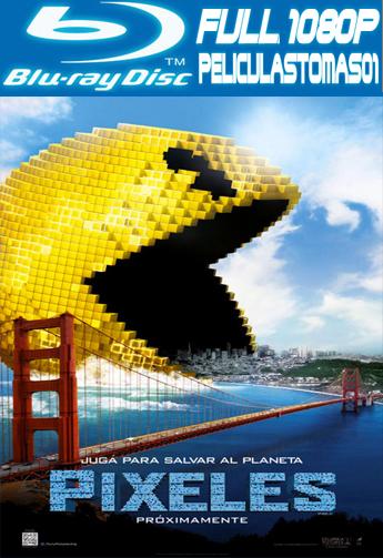 Pixeles (Pixels) (2015) BRRipFull 1080p
