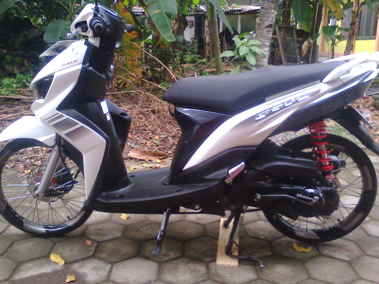 Modifikasi Soul Gt Warna Putih